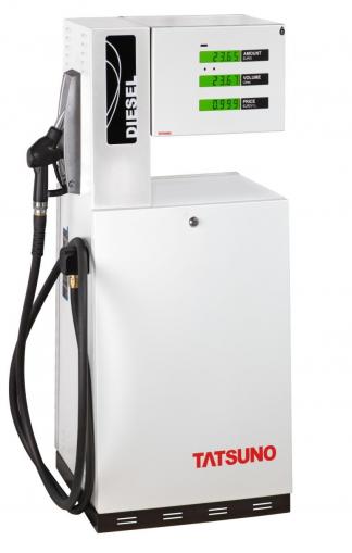 Топливораздаточные колонки (ТРК) Tаtsuno Europe — модели JUNIOR, в конфигурации 1-1, Чехия
