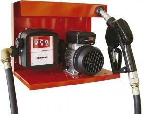S-50 230V AC - Комплект для перекачки ДТ на метал. пластине №4 с мех. счетчиком