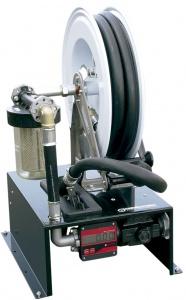 TRUCK KIT · AG-90 12 VDC - Комплект перекачки с катушкой 10м и абсорб. фильтром для установки на транспортном средстве