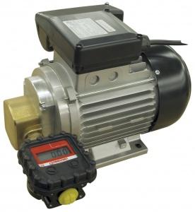 SEA-88 0.74 kW - Шестеренчатый электронасос для смазочных материалов с электронным счетчиком MGE-40