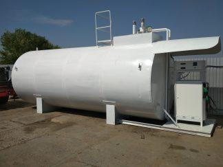 Модульная азс (блок-пункт) на базе резервуара 25 м3