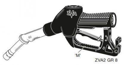 Топливороздаточный кран ZVA2 8rm.1 RU