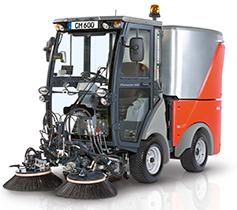 Коммунальная машина Hako - Citymaster 600