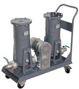 FG-300x2 - Мобильная фильтрующая установка с насосом BAG-800 230 VAC pump, 50/15 µm с абсорб.